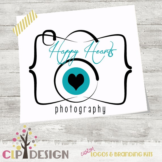 FOR DANA Photography Logo and Watermark Cute Camera by CLPDesign
