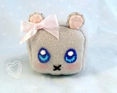 Kawaii Mouse Plushie, Small and Adorable :D Made To Order