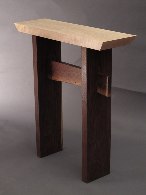 ... Wood Furniture- Entry Table, Hall Table, Small Console Table