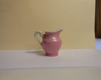 Miniature Porcelain Pitcher from Czechoslovakia