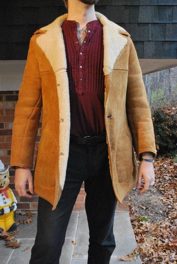 2017 New Design Of Shearling Trailcoat Sheepskin Jacket
