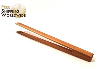 Wooden Simple Kitchen Tongs from Beech wood - 39