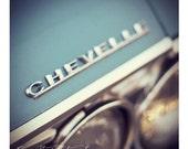 Baby Blue Chevrolet Chevelle
