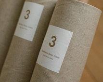 1 yard natural linen fabric cotton/linen Cotton Linen Fabric Cloth -DIY  Art Manual Cloth 100X150CM