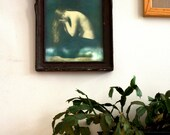 Art Nouveau Frame and Print  - 20s or 30s
