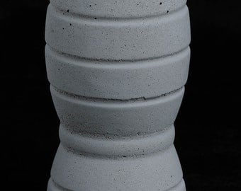 Cement Candle Holder, Future Relic #4
