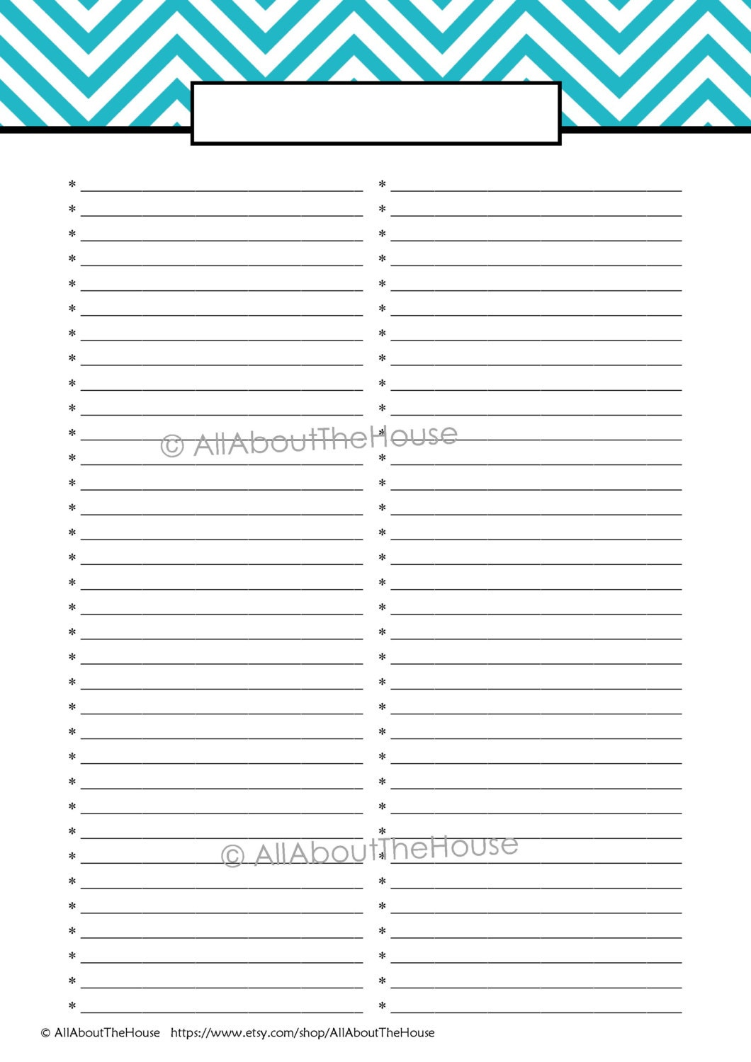 EDITABLE Printable To Do List Printable Shopping List – Printable Grocery List Template Free