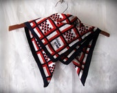 Dots and Lines Vintage Scarf