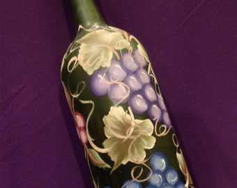 1.5 Ltr Hand Painted Lighted Wine Bottle