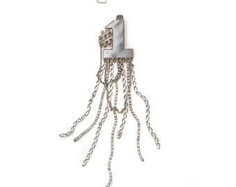 "Necklace clip ""Number 1"""