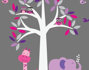 Tree Wall Decal A106