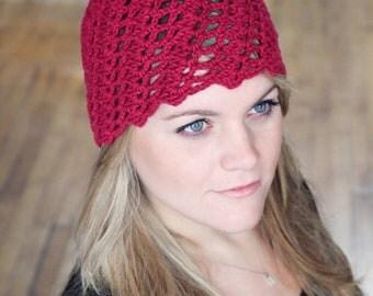 Hat Easy CROCHET PATTERN Cloche Beanie Hat Crochet Pattern pdf The SABINA