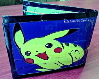 Bi-Fold Duct Tape Wallet with ID Flap