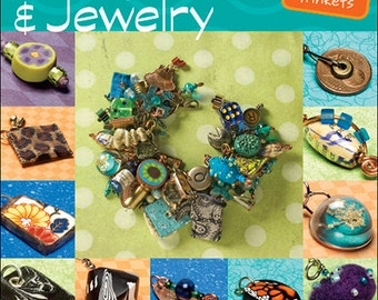 Making Mixed Media Art Charms & Jewelry - new - signed