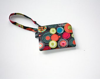 New Iota dots  Wristlets  Ready to ship cell phone, iphone, camera gadget bag
