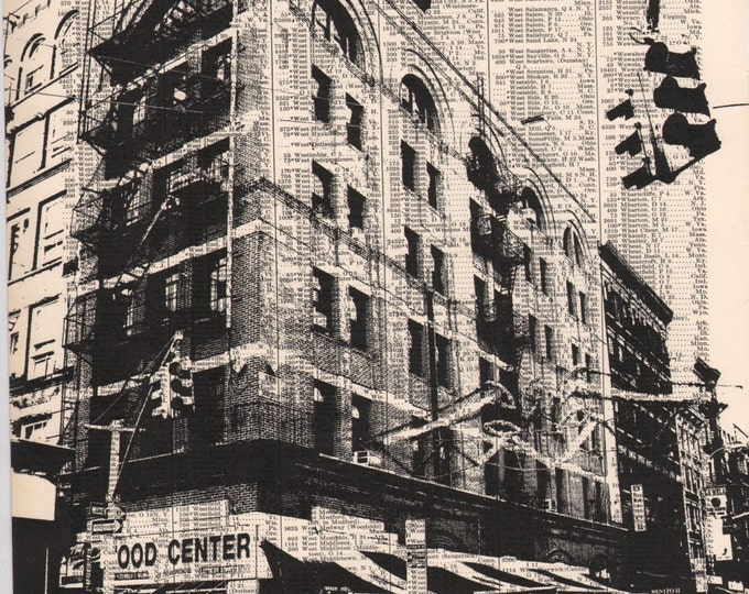 NYC Atlas Page Print - Little Italy