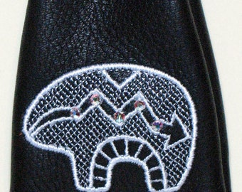 Embroidered Zuni BEAR