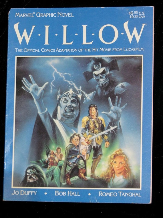 Willow George Lucas graphic novel movie adaptation fantasy comic book
