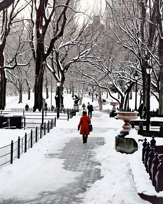 New York City Photography Holiday Decor Christmas Print