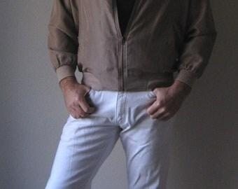 Light Weight Silk Jacket sz M short