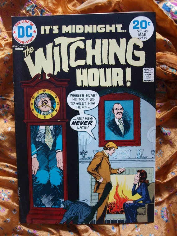 The Witching Hour No 40 DC Comics 1971 Supernatural Witches Coven Horror Madwoman Collectible Sci Fi