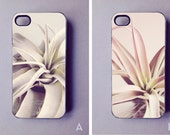 iPhone 4/4S Case // Air Plants tillandsia phone cover gift girlfriend wife coworker