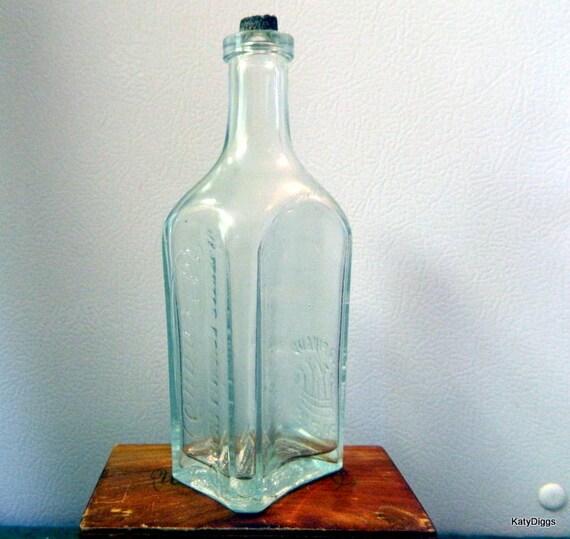 """Ed Pinaud Paris Perfume Bottle """"""""OLD""""""""pontil mark"""