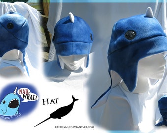 Notorious Narwhal (and whale!) Hats