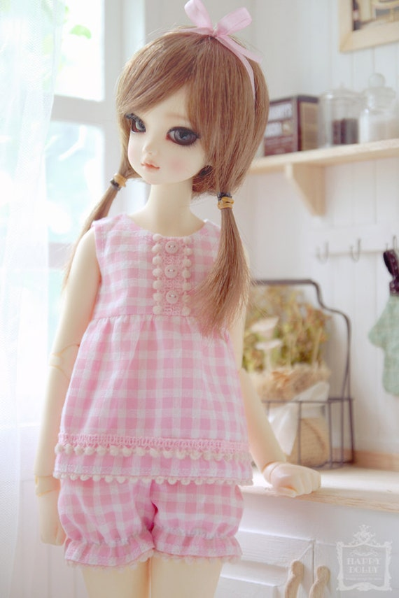 Reserved for (Demi Radam) only - Pink Scottish Pajamas Set for MSD