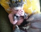 Owl Costume Baby Girls Halloween Handmade