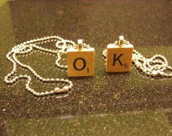 Pretty Little Liars Scrabble Necklace Spencer's Necklace