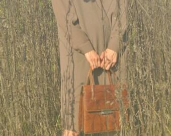 Snake Skin 60's Hand Bag