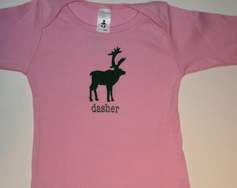 "Long sleeve American Apparel ""dasher"" t-shirt for toddlers...very festive and super hip"