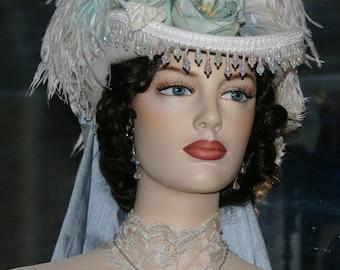 SASS Hat Victorian Riding Hat Wedding - Spirit of Matawan