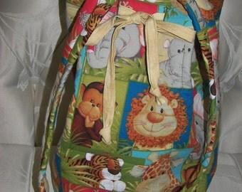 Baby Jungle Babies Diaper Duffle Bag