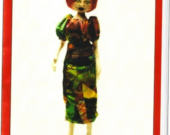 Jami Fashion Doll Pattern by Betz