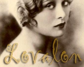 Fingerwaves... Instant Digital Download... 1920's Vintage Glamour Photo... Digital Image by Lovalon