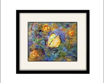 butterfly print abstract art butterfly art modern art modern house art butterfly painting butterfly poster colorful print butterfly wall art