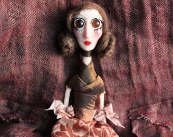 Leia - Ooak art doll