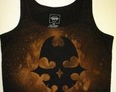 TWEWY Reaper Bleach Stencil Tank Top