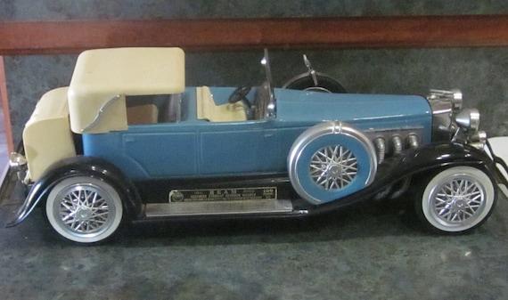 Antique Jim Beam 1934 Duesenberg Model J Car Regal China