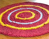 Reserved for Catherine - 2 foot round rug
