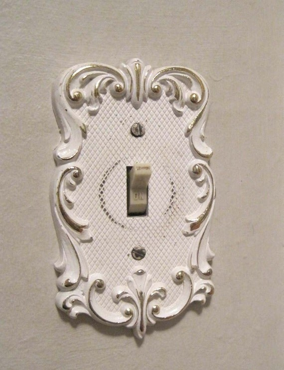 Filligree Light Switch Plate