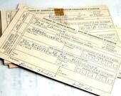 Vintage Postal Address Change Cards- 1970's. Canada Post Ephemera