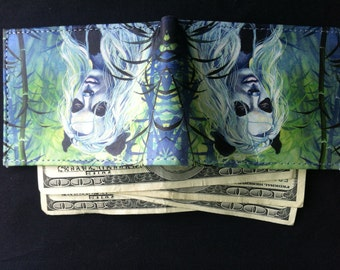 RW2 Cora Art Leather Wallet Handmade by Robert Walker
