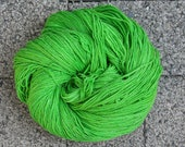 Yarn Pirate Hand Dyed Yarn-- Green