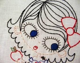 Tattoo Snow White Cutesie Digital Embroidery Patterns