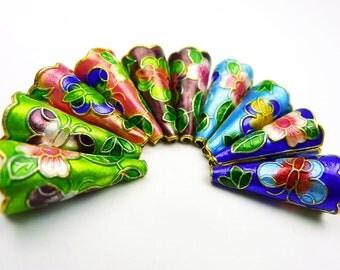 Cloisonne Cones - Color Set B