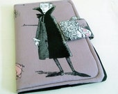 Kindle Touch, Kobo Cover - Ghastlies Vampire, Halloween, mauve