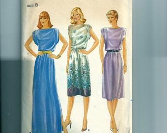 Vintage Butterick Misses' Dress Pattern 3790